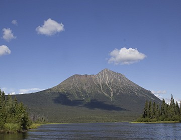 Mount Sheldon from Sheldon Lake