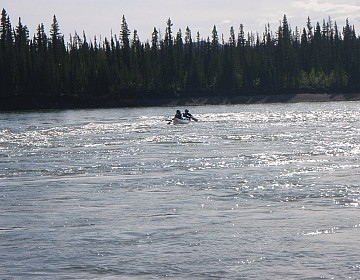 Riffle on Pelly River