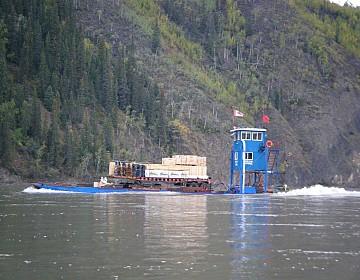 Amelia Lupine barge