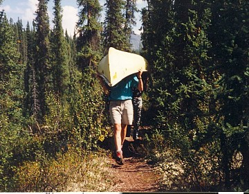Portage trail on South MacMillan
